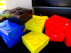 Lego party boxes
