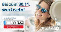 ....bis zu 850€ bei der KFZ Versicherung sparen. Ausserdem kann man einen Reisegutschein gewinnen.