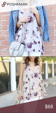 Free People Tree Swing Tunic Lightly used (1-2x) with little to no sign of wear. I personally don't see any sign of wear. It's beautiful ✨Photo credit: Sophistifunkblog.com Free People Tops Tunics