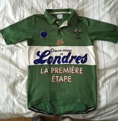 This is a unique Paul Smith Jersey, made for Rapha, for the Premiere Etape of Tour de France in London on July 8th 2007. The used condition on this jersey is 9 out of 10. There is no stain or any sign of wear on any part of the shirt, the only sign of use is a slight pile of material on the inside of the jersey. | eBay!