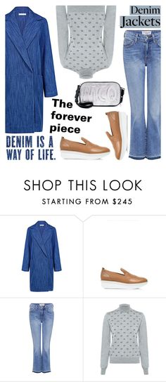 """""""Must have: Denim Jackets!"""" by ifchic ❤ liked on Polyvore featuring 10 Crosby Derek Lam, Markus Lupfer and McQ by Alexander McQueen"""