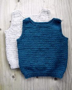 A Main Hobbies Coupon Crochet Toddler, Crochet Bebe, Crochet For Boys, Knit Crochet, Baby Boy Knitting Patterns, Crochet Vest Pattern, How To Make Clothes, Diy Clothes, Toddler Vest