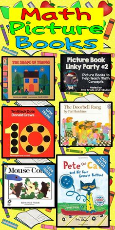 Math Picture Books Linky Party :)