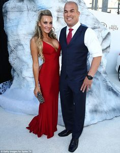 Tito Ortiz, MMA fighter accompanied by his girlfriend Amber Nichole Miller at the Spike TV Guys Choice Awards