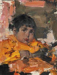 Nicolai Fechin, MY GARDENER'S BABY