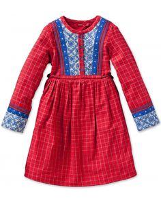 Dagmar Dress Red Glass Check