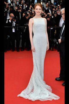 Emma Stone in Christian Dior