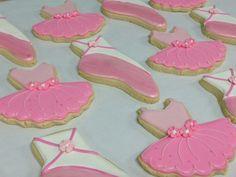 Custom cookies celebrate your ballerina's recital