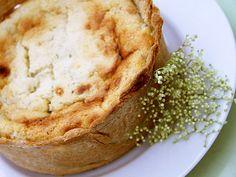 Elderflower Cheesecake by L Images, via Flickr....ELDERBERRY CHEESECAKE YUMMM
