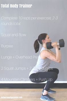 Full body workout with weights - Full body workout at home - Full body workout at gym. Want more full body workouts so that you can get on track with your workouts without stressing about it? Join #StressFreeStrength - the free 10 day fitness challenge starting January 20.
