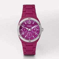 Berkley Pink Fossil Watch