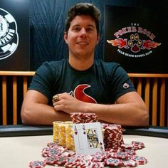 Someone is prepping for the final table. 2015 #WSOP November Niner Josh Beckley won a gold ring in the opening even of the WSOP Circuit stop in Palm Beach. A $365 buy-in with $22349 score. #WSOPC by pokernewsdotcom