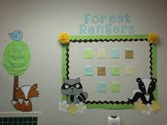 Cute forest theme classroom