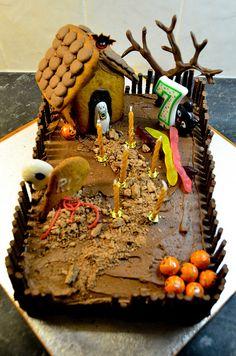 halloween birthday cakes | Halloween Birthday Cake | Flickr - Photo Sharing!