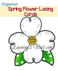 These colorful cards were perfect for our spring fine motor preschool activities. Simply print these Spring flower lacing cards on cardstock! Printable Preschool Worksheets, Free Preschool, Preschool Themes, Kindergarten Crafts, Preschool Learning, Preschool Crafts, Easter Crafts, Free Printables, Fine Motor Activities For Kids