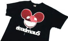 Deadmau5 T Shirt Mens Size XL Short Sleeve Band Tee Logo Symbol Dubstep House Sz #Deadmau5 #GraphicTee