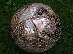 Garden ball from mirror glass of 25 cm diameters | Flickr - Photo Sharing!