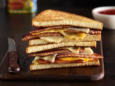 Prepare an easy appetizer or quick comfort food meal with these effortless recipes. Try hundreds of recipes, like SPAM® casseroles and sandwiches. Best Grilled Cheese, Grilled Cheese Recipes, Grilled Cheeses, All You Need Is, Spam Recipes, Living At Home, Easy Food To Make, Food Photography, Grilling