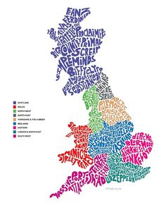 For english invasion themeUK map of bands and music artists