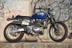 If Steve McQueen were still among us, he would own one of these: a Triumph Scrambler 900 from Mule Motorcycles.