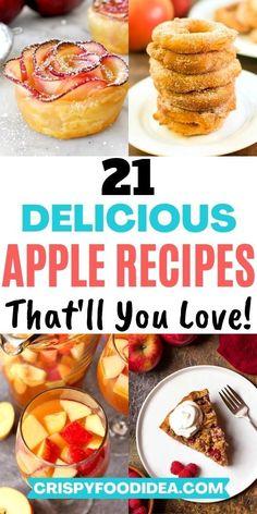 Best Apple Recipes, Fruit Recipes, Fall Recipes, Sweet Recipes, Baking Recipes, Dessert Recipes, Favorite Recipes, Apple Desserts, Fall Desserts