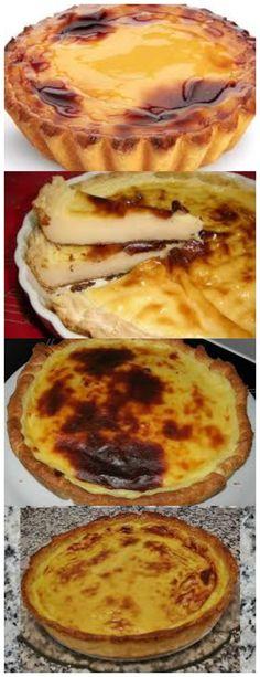 Tarte Natas II 1 base de massa folhada 1 lata de leite condensado 4 ovos #receita#bolo#torta#mousse#pudim#aniversario#casamento#pave#confeitaria#chessecake#chocolate#natal#anonovo#blackfriday
