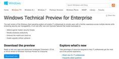 Nuevas noticias sobre Windows Threshold, se muestra enlace de descarga por error