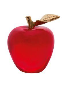 Apple Paperweight, Red - Daum