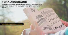 """Formas de Comercialização de Grãos utilizados pelo comprador (Back-to-back, Especulação, Arbitragem e Basis). Esses e outros temas são abordados em nosso livro """"O Segredo do Grão"""". Compre já em www.osegredodograo.com.br.     #osegredodograo #containers #milho #soja #basis #venda #comercio #comerciantes"""