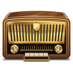 Vintage Radio Icon Pack by Iconshock