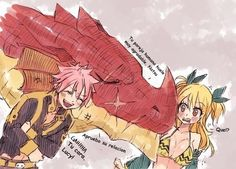 Future father-in law NaLu natsu Lucy fairy tail Fairy Tail Nalu, Fairy Tail Love, Fairy Tail Ships, Art Fairy Tail, Fairy Tail Amour, Fairy Tail Comics, Fairy Tail Funny, Fairy Tail Natsu And Lucy, Fairy Tail Guild