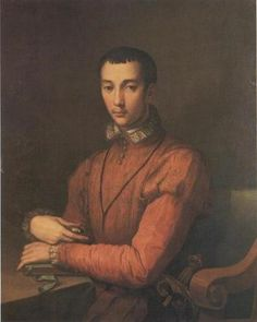 Alessandro Allori ~ Portrait of Francesco I de' Medici ~ c.1560 ~ oil on canvas ~ once part of the Ingenheim Collection and currently owned by Wawel Royal Castle, Cracow