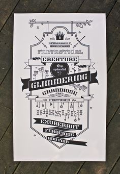 Marvelous Beast  Ornamental typeface and posters