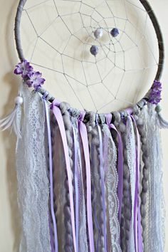 Dream Catcher Flower Dreamcatcher Large Dream by WhitetailRoad