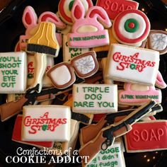 """""""A Christmas Story"""" cookies"""