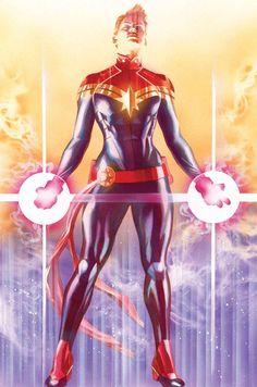 Carol Danvers, Captain Marvel, by Alex Ross Ms Marvel, Marvel Women, Marvel Girls, Comics Girls, Marvel Heroes, Marvel Avengers, Heros Comics, Online Comics, Marvel Comics Art