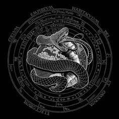 Jormungandr : Tales of Revilement Norse Pagan, Norse Mythology, Jormungand Tattoo, Mythology Tattoos, Last Knights, Asatru, Death Metal, Metal Bands, Body Art Tattoos
