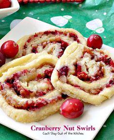 Cranberry Nut Swirls | Can't Stay Out of the Kitchen | these are our favorite #Christmas #cookies. They have a lovely #cranberry, pecan & orange zest filling in a shortbread crust. Heavenly. #dessert