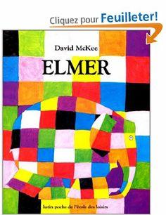 Elmer: Amazon.fr: MCKEE: Livres