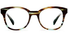 Oh, Warby. Stop making awesome new frames until I get a new job or somehow break my existing glasses so I need new ones.  WP, Mallory Blue Marblewood, $95.