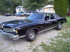 My very first car-wish I had it now! 1975   silver chevy monte carlo - and boy did I drive that car, like it was meant to be driven! Lol. All the boys wanted it, espec. if I let them drive it...awesome car!