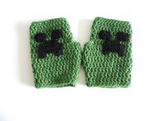 minecraft crochet hats - Google Search