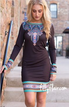 Be Stylish Dress in Black - Filly Flair