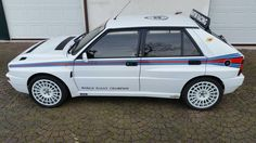 Lancia Delta Hf integrale Limited Edition Martini