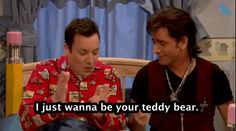 """The Men Of """"Full House"""" Reunited To Help Jimmy Fallon With His Nightmares"""
