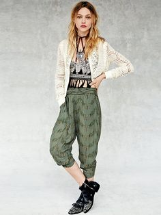 Free People Got Me Twisted Harem Pant at Free People Clothing Boutique