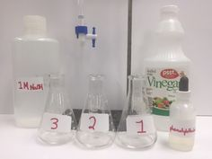 A super lab for calculations!Students will write a balanced equation and use the following calculations: NV=NV  M x (eq./mol) = N Molarity = moles/L Molar mass = g/mole Percent = (acid/vinegar) x 100 Student Lab Sheet, Student Lab Quiz, Student Lab Make-up Sheet with Data for Absent Students, Answer Keys, Teacher Notes, Follow up Problem Based ActivityPDF and WORD files included.