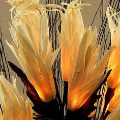 Natural Flame Flower Light by The Light Garden