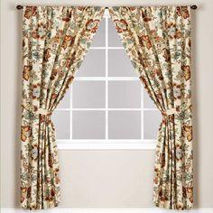 World Market® Malli Lined Rod Pocket 84-Inch Window Curtain Panel