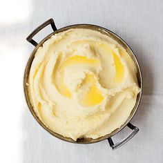 These heavenly, rich mashed potatoes from Anthony Bourdain are made with lots—and lots—of butter. Get the recipe from Food & Wine.